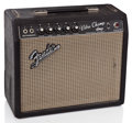 Musical Instruments:Amplifiers, PA, & Effects, 1966 Fender Vibro Champ Blackface Guitar Amplifier #PL...