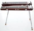 Musical Instruments:Lap Steel Guitars, 1950s Fender Dual 8 Professional Walnut Lap Steel Guitar #2228...