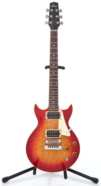 The Heritage Doublecut Cherryburst Solid Body Electric Guitar #B14502