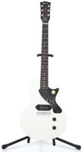 Musical Instruments:Electric Guitars, 2010 Gibson Les Paul Jr. Faded White Solid Body Electric Guitar#132600659...