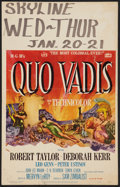 """Movie Posters:Historical Drama, Quo Vadis (MGM, 1951). Window Card (14"""" X 22"""") Style A. HistoricalDrama.. ..."""