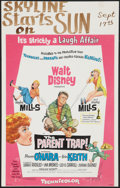 "Movie Posters:Comedy, The Parent Trap Lot (Buena Vista, 1961). Window Cards (2) (14"" X 22""). Comedy.. ... (Total: 2 Items)"