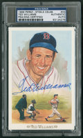 Baseball Collectibles:Others, Ted Williams Signed Postcard....