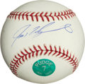 Baseball Collectibles:Hats, Ivan Rodriguez Single Signed Baseball. ...