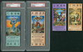 Football Collectibles:Tickets, 1980-99 Super Bowl Tickets Lot of 4....