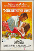 "Movie Posters:Academy Award Winners, Gone with the Wind (MGM, R-1974). One Sheet (27"" X 41"") and Photos(5) (8"" X 10""). Academy Award Winners.. ... (Total: 6 Items)"