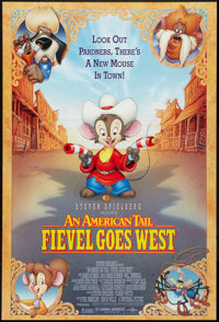 "An American Tail: Fievel Goes West Lot (Universal, 1991). One Sheets (2) (27"" X 40"") DS. Animation. ... (Total..."