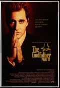 """Movie Posters:Crime, The Godfather Part III Lot (Paramount, 1990). One Sheets (2) (28"""" X 41"""" and 27"""" X 40""""). Crime.. ... (Total: 2 Items)"""