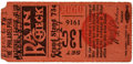 Baseball Collectibles:Tickets, 1916 Philadelphia Phillies vs. Brooklyn Robins Ticket Stub....
