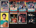 Basketball Cards:Lots, 1970's-1990's Topps, Fleer & Star Basketball HoFers Collection(8). ...