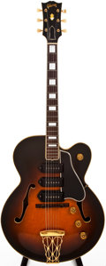 Musical Instruments:Electric Guitars, 1951 Gibson ES-5 Sunburst Semi-Hollow Body Electric Guitar, #A7015....