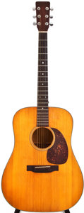 Musical Instruments:Acoustic Guitars, 1970 Martin D-18 Natural Acoustic Guitar, #260116....