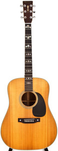 Musical Instruments:Acoustic Guitars, 1974 Martin D-28 Natural Acoustic Guitar, #343947....