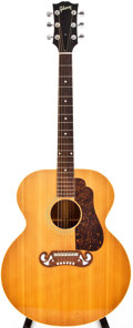 Musical Instruments:Acoustic Guitars, 1961 Gibson SJ-100 Natural Acoustic Guitar, #683F....