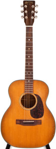 Musical Instruments:Acoustic Guitars, 1965 Martin 0-18T Natural Acoustic Guitar, #199658....