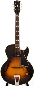 Musical Instruments:Electric Guitars, 1953 Gibson ES-175 Sunburst Archtop Electric Guitar, #A-14104....