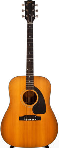Musical Instruments:Acoustic Guitars, 1965 Gibson Heritage Natural Acoustic Guitar, #176100....