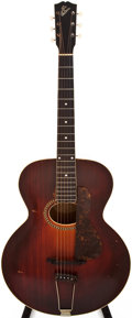 Musical Instruments:Acoustic Guitars, 1918 Gibson L-4 Sunburst Archtop Acoustic Guitar, #46865....