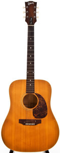 Musical Instruments:Acoustic Guitars, 1968 Gibson J-50 Natural Acoustic Guitar, #918395....