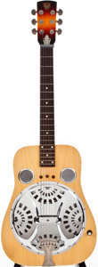 Musical Instruments:Resonator Guitars, Modern Dobro 60 Natural Resonator Guitar, #X1046....