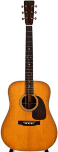 Musical Instruments:Acoustic Guitars, 1957 Martin D-28 Natural Acoustic Guitar, #158176....