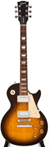 Musical Instruments:Electric Guitars, 2000 Gibson Les Paul Standard Sunburst Solid Body Electric Guitar, #03410357....