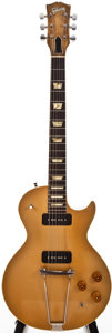 Musical Instruments:Electric Guitars, 1952-53 Gibson Les Paul Goldtop Solid Body Electric Guitar, #N/A....