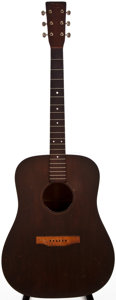 Musical Instruments:Acoustic Guitars, 1948 Martin D-18 Natural Acoustic Guitar, #104713....