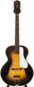 Musical Instruments:Acoustic Guitars, 1944 Epiphone Zenith Sunburst Archtop Acoustic Guitar, #50670....