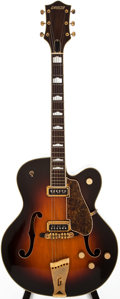 Musical Instruments:Electric Guitars, 1955 Gretsch Electro II Cutaway/ Country Club Sunburst ArchtopElectric Guitar, #14036....