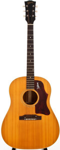 Musical Instruments:Acoustic Guitars, 1968 Gibson J-50 Natural Acoustic Guitar, #907922....
