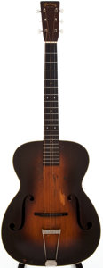 Musical Instruments:Acoustic Guitars, 1935 Martin C-1 Sunburst Archtop Acoustic Guitar, #59505....