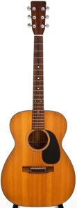 Musical Instruments:Acoustic Guitars, 1971 Martin 00-18 Natural Acoustic Guitar, #281975....