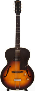 Musical Instruments:Electric Guitars, 1960 Gibson ES-125T Sunburst Archtop Electric Guitar, #R6759....