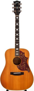 Musical Instruments:Acoustic Guitars, 1973-75 Gibson Hummingbird Custom Natural Acoustic Guitar,#A114026....