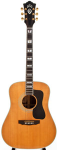 Musical Instruments:Acoustic Guitars, 1985 Guild D55-NT Natural Acoustic Guitar, #DE101316....