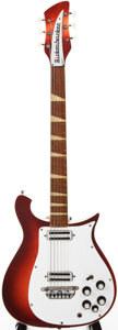 Musical Instruments:Electric Guitars, 1965 Rickenbacker 460 Fireglo Solid Body Electric Guitar, #EA52....