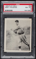 Baseball Cards:Singles (1930-1939), 1939 Play Ball Arky Vaughan #55 PSA NM-MT 8....