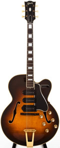 Musical Instruments:Electric Guitars, 1951 Gibson ES-5 Sunburst Semi-Hollow Body Electric Guitar,#A9115....