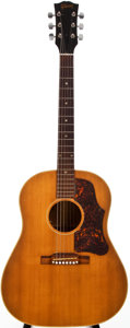 Musical Instruments:Acoustic Guitars, 1956 Gibson J-50 Natural Acoustic Guitar, #76899-18....