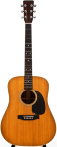 Musical Instruments:Acoustic Guitars, 1972 Martin D-28 Natural Acoustic Guitar, #295623....