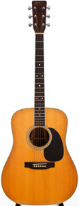 Musical Instruments:Acoustic Guitars, 1979 Martin D-35 Natural Acoustic Guitar, #409899....