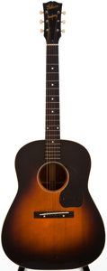 Musical Instruments:Acoustic Guitars, 1944 Gibson J-45 Sunburst Acoustic Guitar, #N/A....