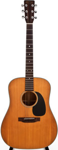 Musical Instruments:Acoustic Guitars, 1971 Martin D-18 Natural Acoustic Guitar, #273346....
