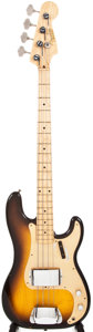 Musical Instruments:Bass Guitars, 1958 Fender Precision Sunburst Electric Bass Guitar, #023282....
