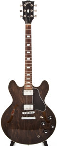 Musical Instruments:Electric Guitars, 1980 Gibson ES-335TD Walnut Semi-Hollow Body Electric Guitar, #83370062....