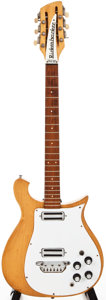 Musical Instruments:Electric Guitars, 1965 Rickenbacker 450-12 Mapleglo Solid Body Electric Guitar,#N/A....