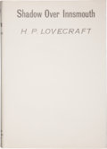 "Books:Science Fiction & Fantasy, H. P. Lovecraft. The Shadow Over Innsmouth. Everett:Visionary Publishing Company, 1936. First edition (""Published, ..."
