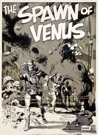 "WALLY WOOD (American, 1927-1981) EC 3-D #3 Complete 8-page 3-D story ""Spawn of Venus"" Ori"