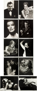 """Movie Posters:Miscellaneous, Hurrell Photo Portfolio I (George Hurrell, 1979-1980). Autographed Limited Edition Portfolio of Photos (10) (16"""" X 20"""") This... (Total: 10 Items)"""